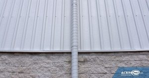 Aplicación de Lámina TRN-100/35 Pintro en Muro
