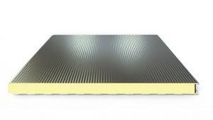 Panel Aislado Isobox Plissé para Muro Isocindu